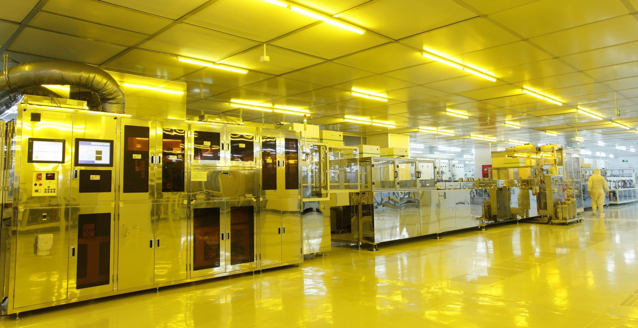 Orient Display Factory: LCD Production Facility