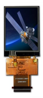 """2.4"""" Color TFT LCD Display Module with Resistive Touch Panel"""