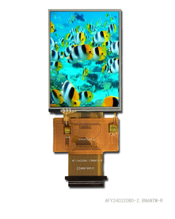 2.8 inch 240320 color TFT LCD Display with Resistive Touch Panel