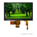 7 inch 800480 color TFT LCD display with capacitive touch panel