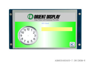 7 Inch TFT Embedded LCD Display with Resistive Touch Panel