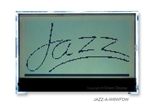 Orient Display JAZZ Graphic LCD, Positive FSTN