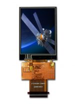 "2.4"" Color TFT LCD Display Module with Resistive Touch Panel"