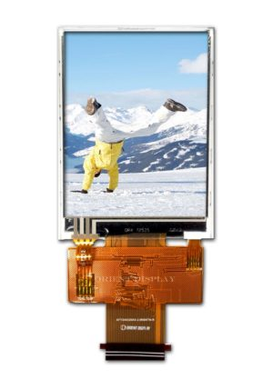 "2.8"" 240320 color TFT LCD Display with Resistive Touch Panel"