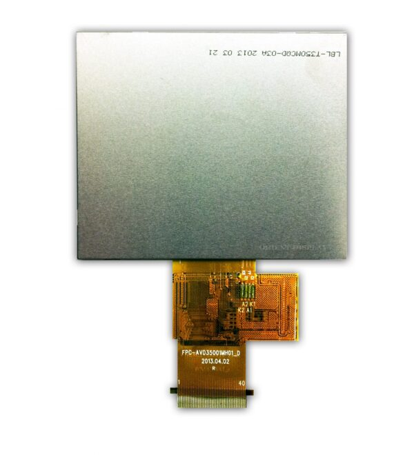 3.5 inch 320240 color TFT LCD display backside
