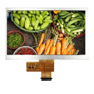 7 inch 1024600 Sunlight Readable IPS TFT display
