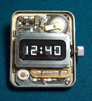 First LCD watch