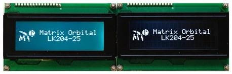 FSTN LCD vs FFSTN LCD White Backlight