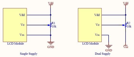 Orient Display: Temperature Compensation - Power Supply