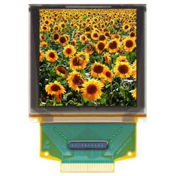 1.50'' OLED, 128x128, Color, Parallel/SPI Interface