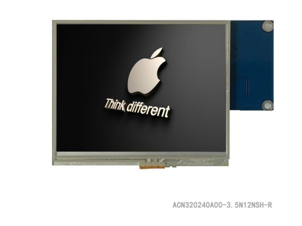 "3.5"" TFT Full Control Platform, 320x240, with Resistive Touch Panel"