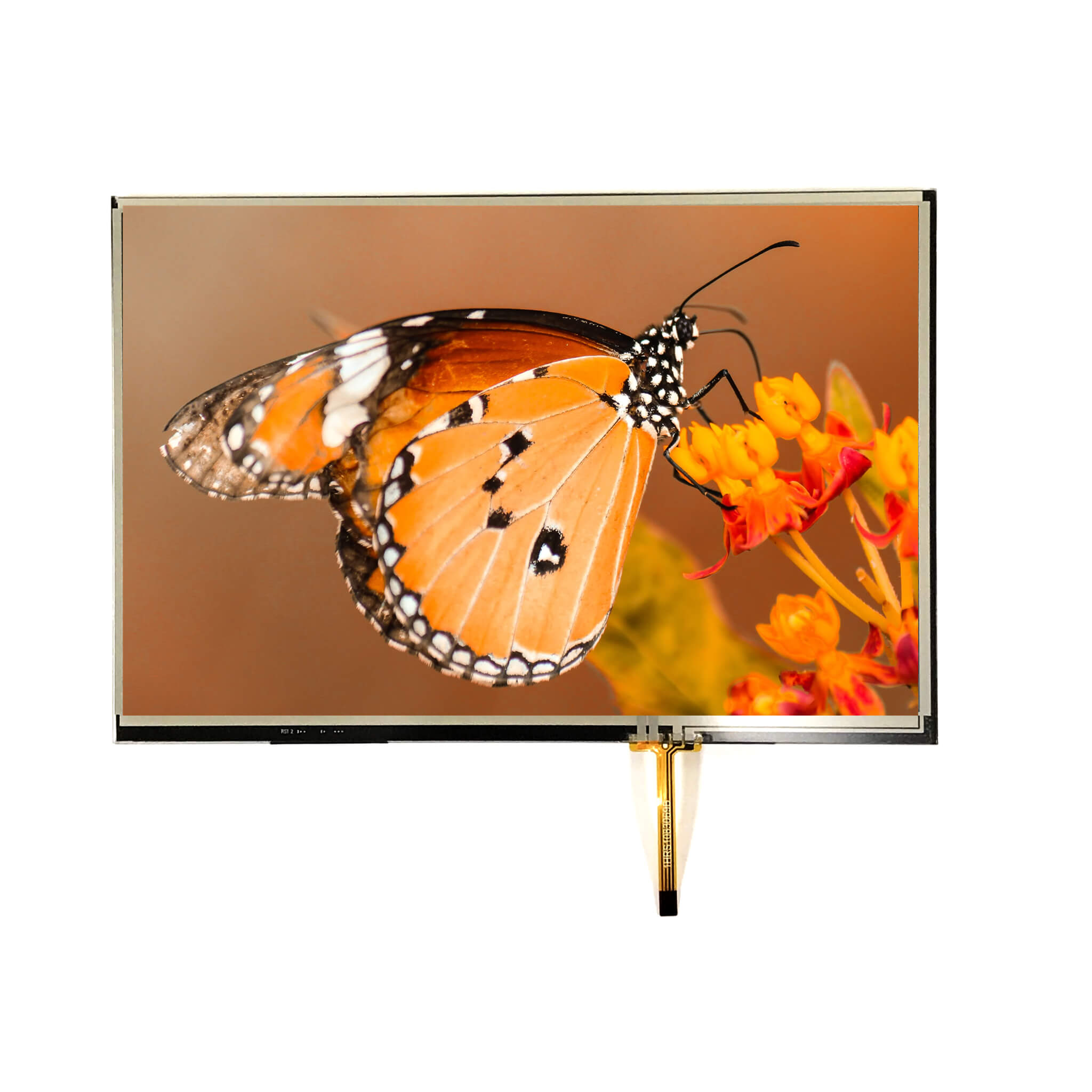 "10.1"" Sunlight Readable IPS, 1280x800, 800 Nits with Resistive Touch Panel"