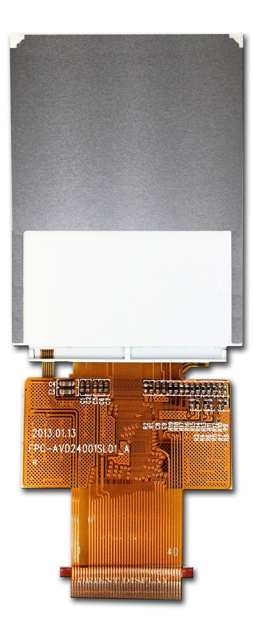 "2.4"" TFT, 240x320, 220 Nits with Resistive Touch Panel"