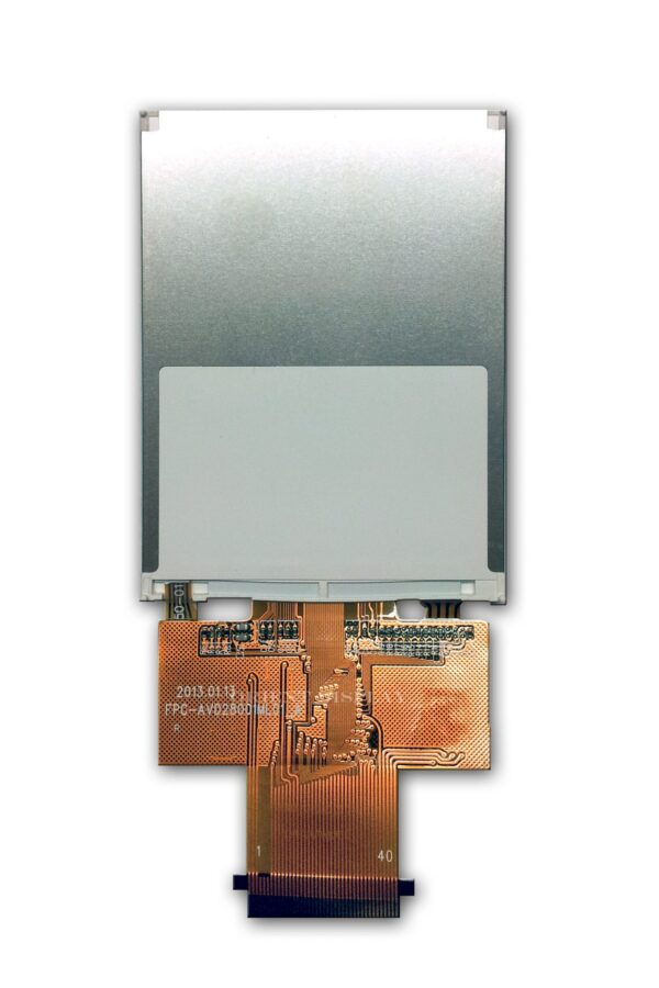 "2.8"" TFT, 240x320, 230 Nits with Resistive Touch Panel"