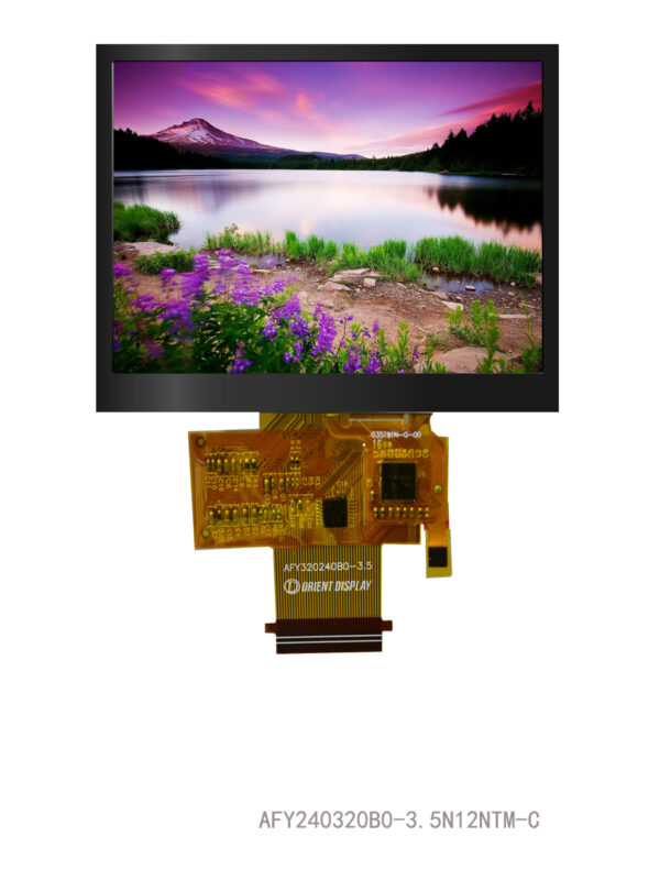 "3.5"" TFT, 320x240, 440 Nits with Capacitive Touch Panel"
