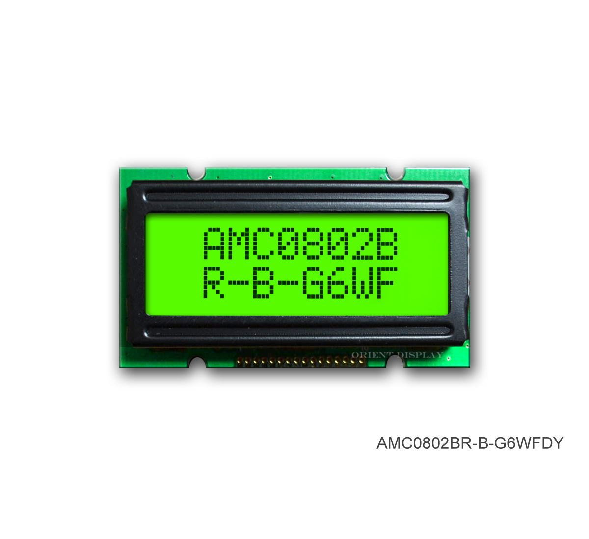 AMC0802BR-B-G6WFDY (8x2 Character LCD Module)
