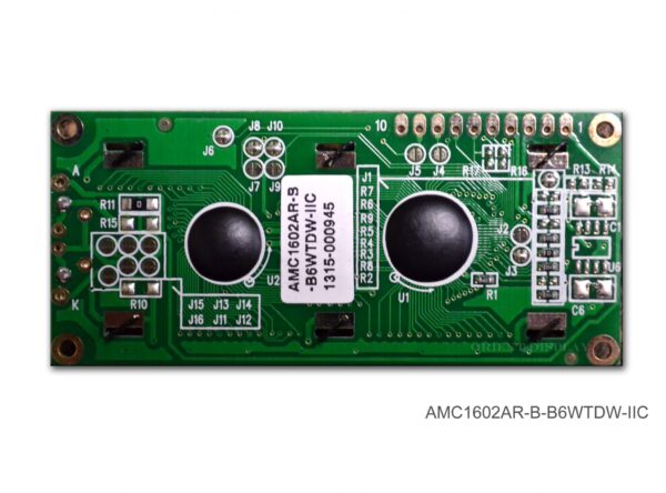 AMC1602AR-B-B6WTDW-I2C (16x2 Character LCD Module - I2C Interface)