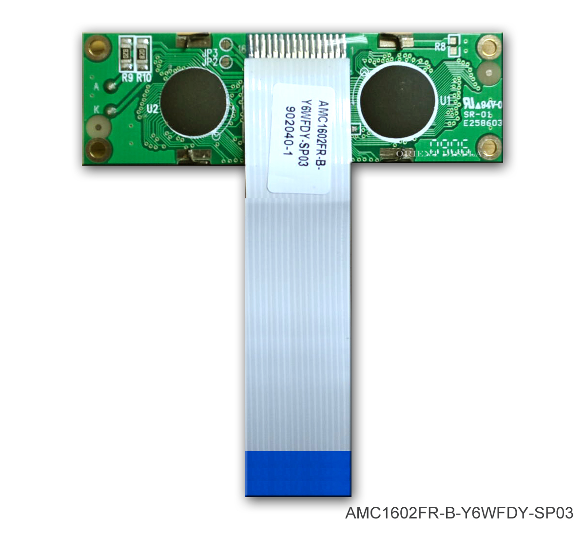 AMC1602FR-B-Y6WFDY-SP03 (16x2 Character LCD Module)