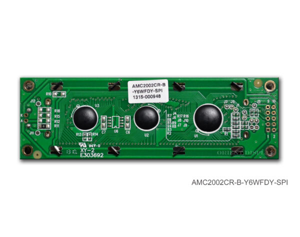 AMC2002CR-B-Y6WFDY-SPI (20x2 Character LCD Module - SPI Interface)