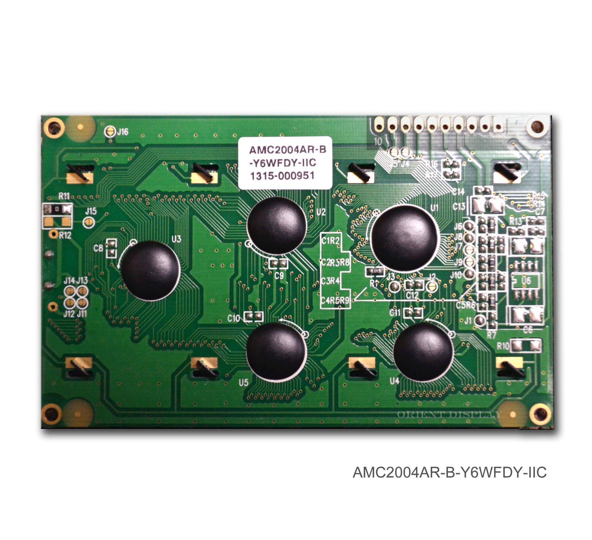 AMC2004AR-B-Y6WFDY-I2C (20x4 Character LCD Module - I2C Interface)