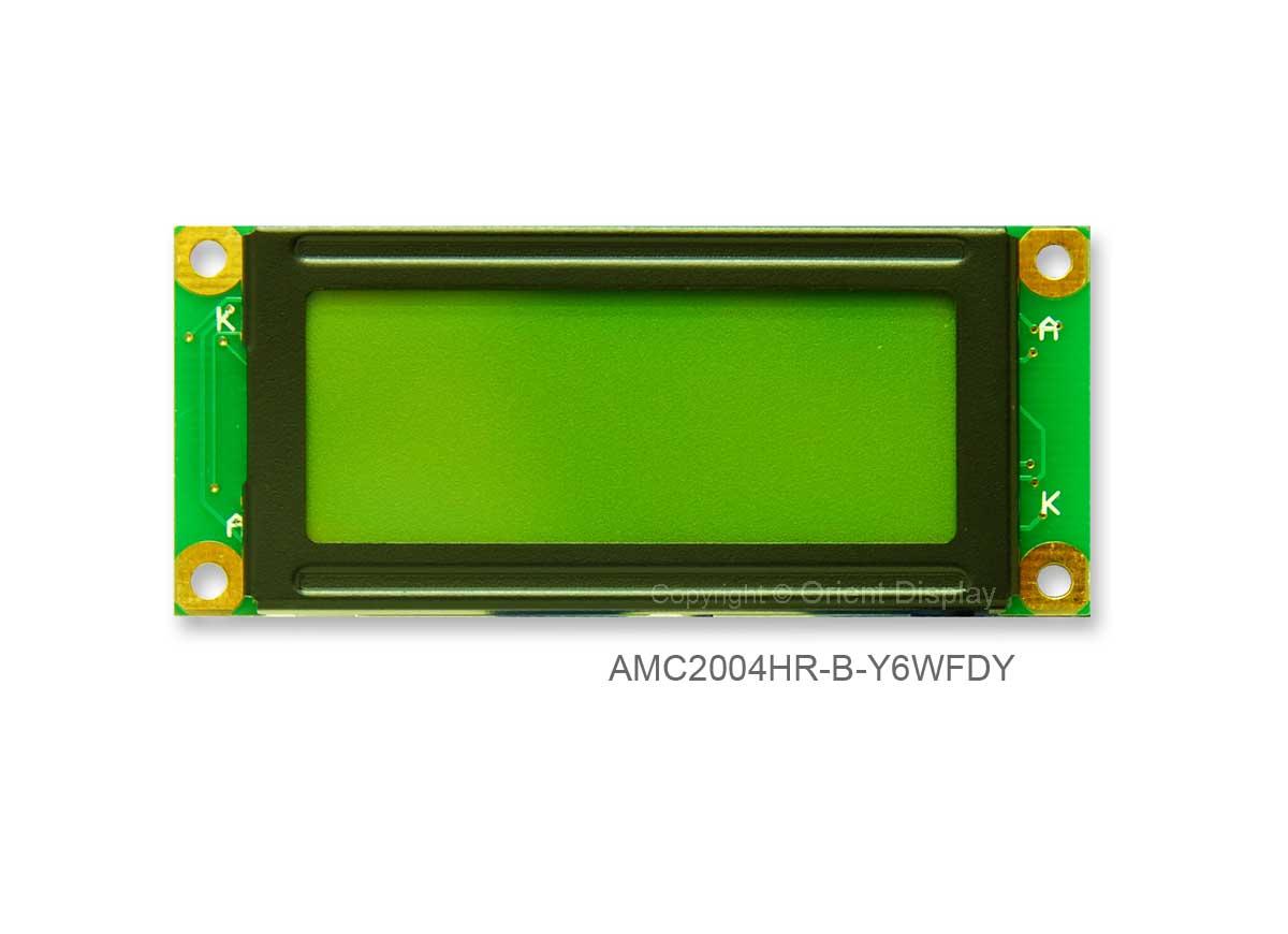 AMC2004HR-B-Y6WFDY (20x4 Character LCD Module)