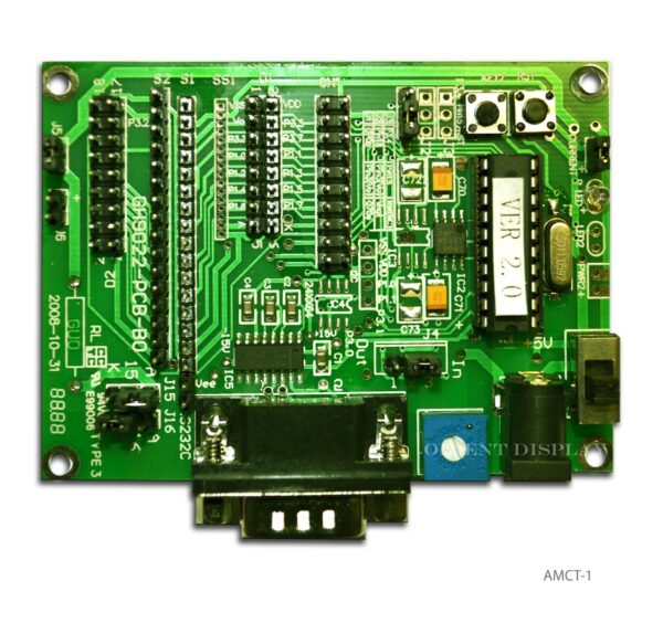 AMCT-1 (Demo Board for Character LCD Modules)