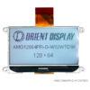 """AMG12864PR-G-W12WTDW (2.9"""" 128x64 COG LCD Module)"""