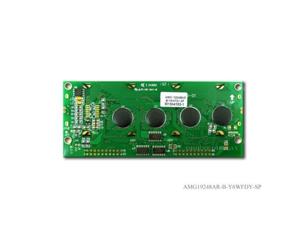 """AMG19248AR-B-Y6WFDY (3.8"""" 192x48 Graphic LCD Module)"""