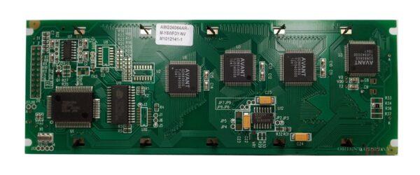 """AMG24064AR-M-Y6WFDY-NV (5.2"""" 240x64 Graphic LCD Module)"""