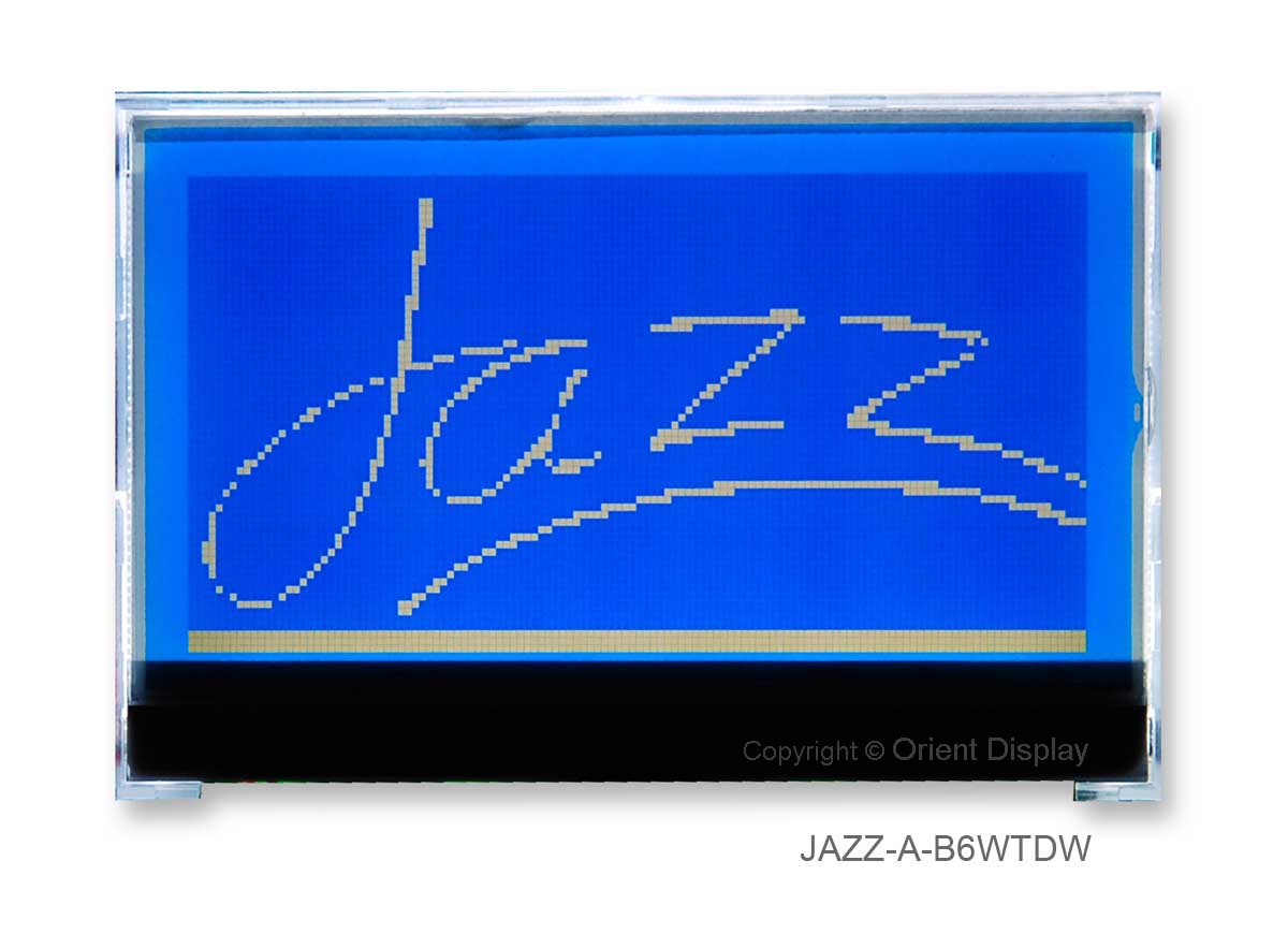 JAZZ-A-B6WTDW (LCD+BL, Graphic COG 128x64)