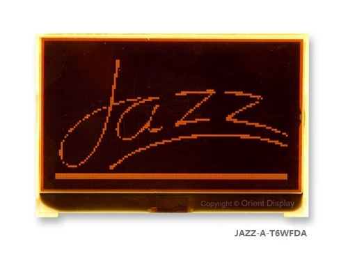 JAZZ-A-T6WFDA Module (LCD+BL, Graphic COG 128x64)