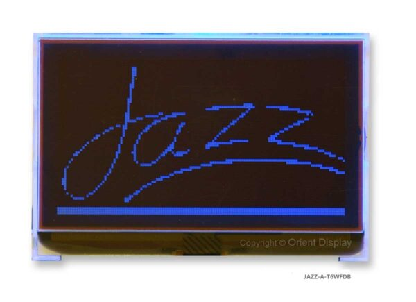JAZZ-A-T6WFDB Module (LCD+BL, Graphic COG 128x64)
