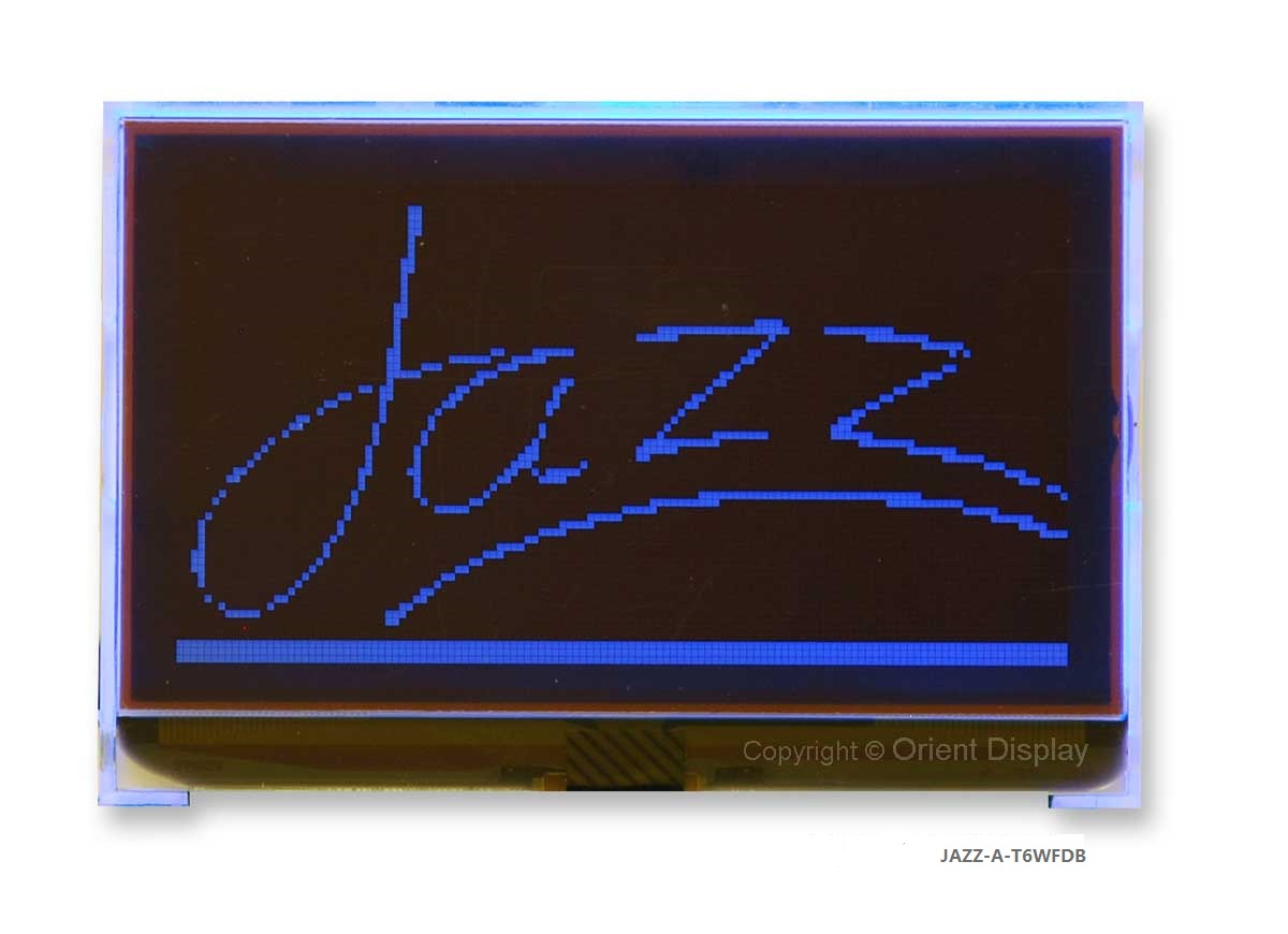 JAZZ-A-T6WFDB Module (LCD+BL, Graphic COG 128x64)