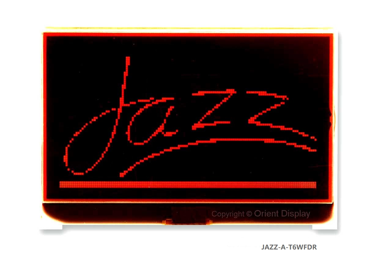 JAZZ-A-T6WFDR Module (LCD+BL, Graphic COG 128x64)