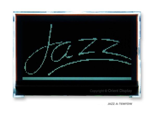 JAZZ A-T6WFDW Module (LCD+BL, Graphic COG 128x64)