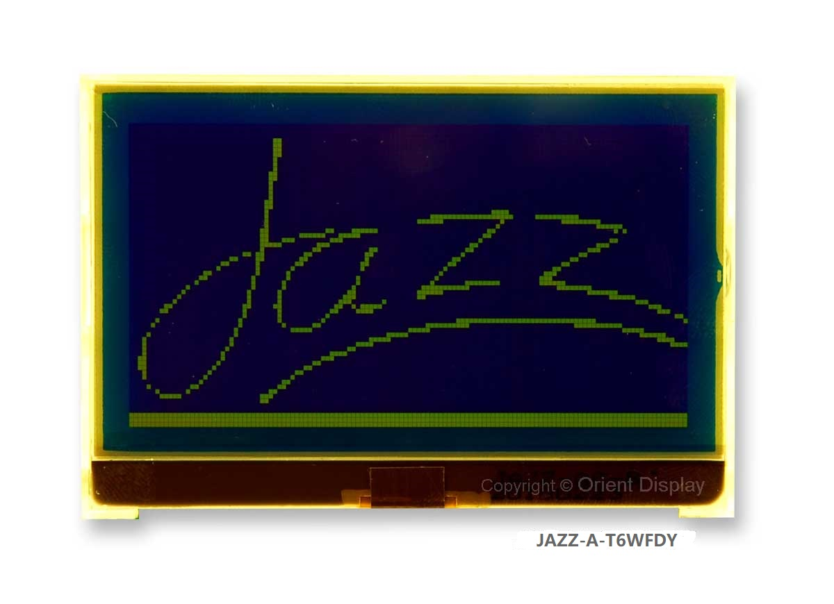 JAZZ-A-T6WFDY Module (LCD+BL, Graphic COG 128x64)