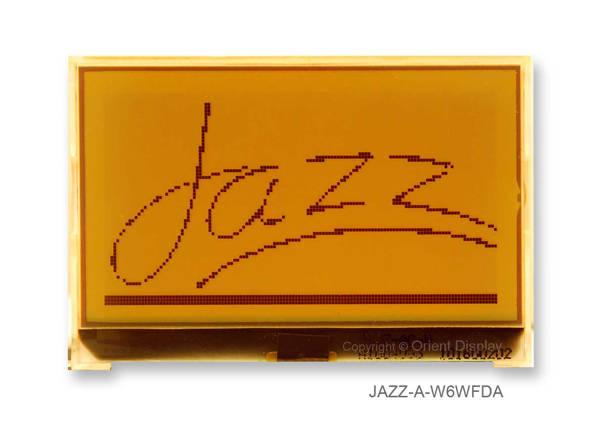 JAZZ A-W6WFDA Module (LCD+BL, Graphic COG 128x64)