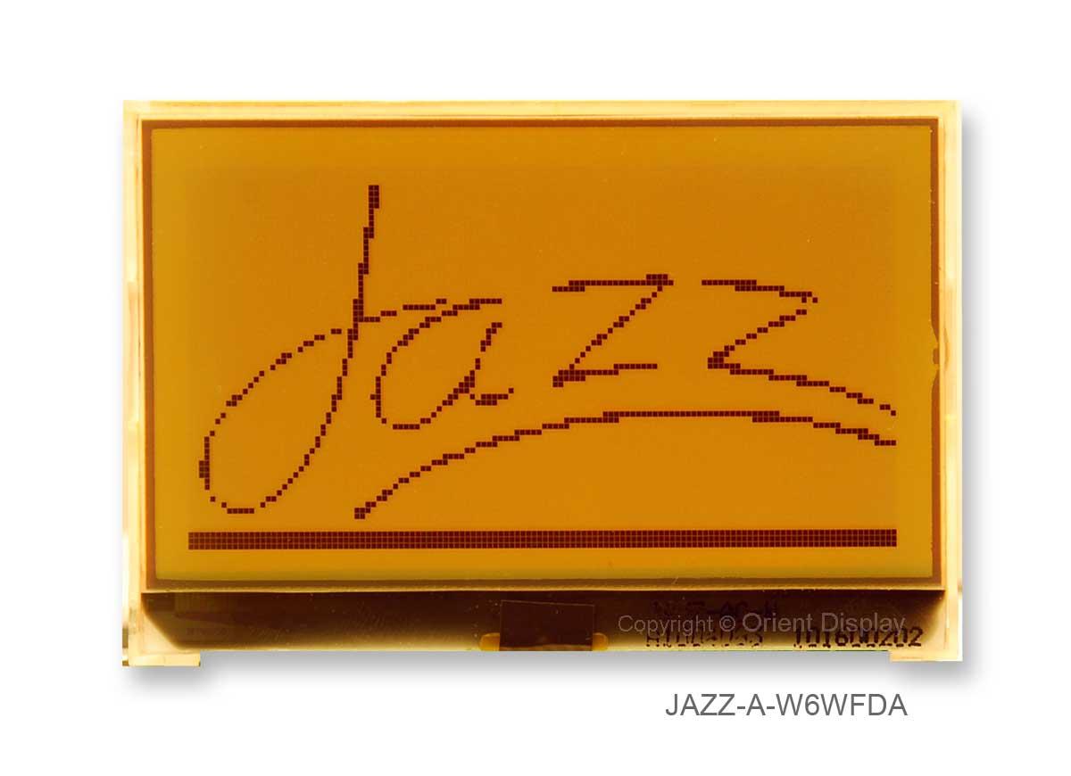 JAZZ A-W6WFDA Module (LCD+BL, Graphic COG 128x64)