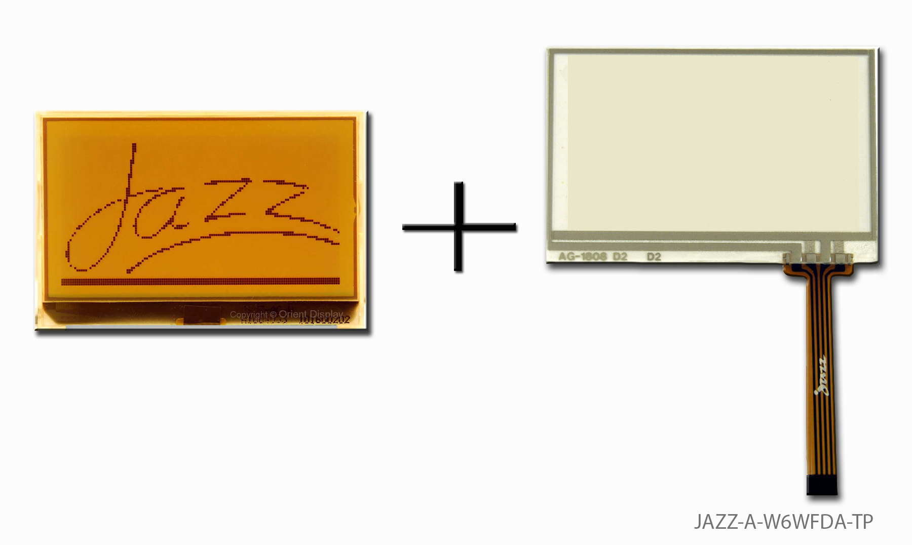 JAZZ-A-W6WFDA-TP (LCD+BL+RTP Graphic COG 128x64)