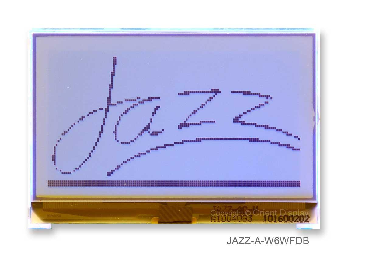 JAZZ A-W6WFDB Module (LCD+BL, Graphic COG 128x64)