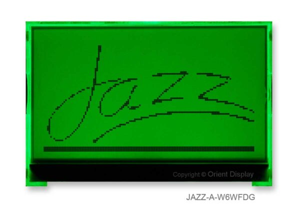 JAZZ-A-W6WFDG Module (LCD+BL, Graphic COG 128x64)