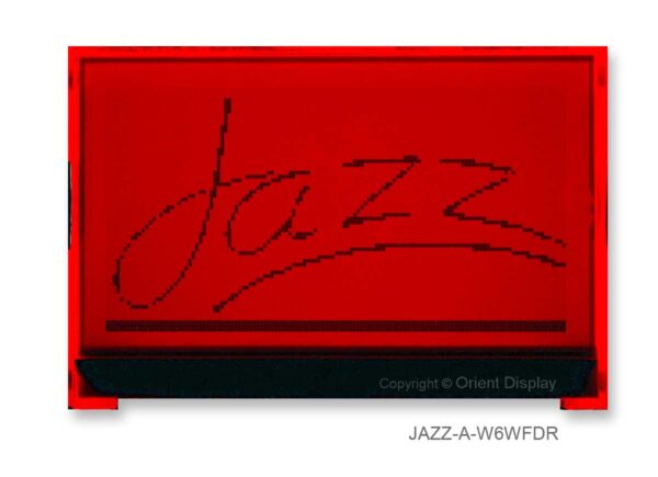 JAZZ-A-W6WFDR Module (LCD+BL, Graphic COG 128x64)