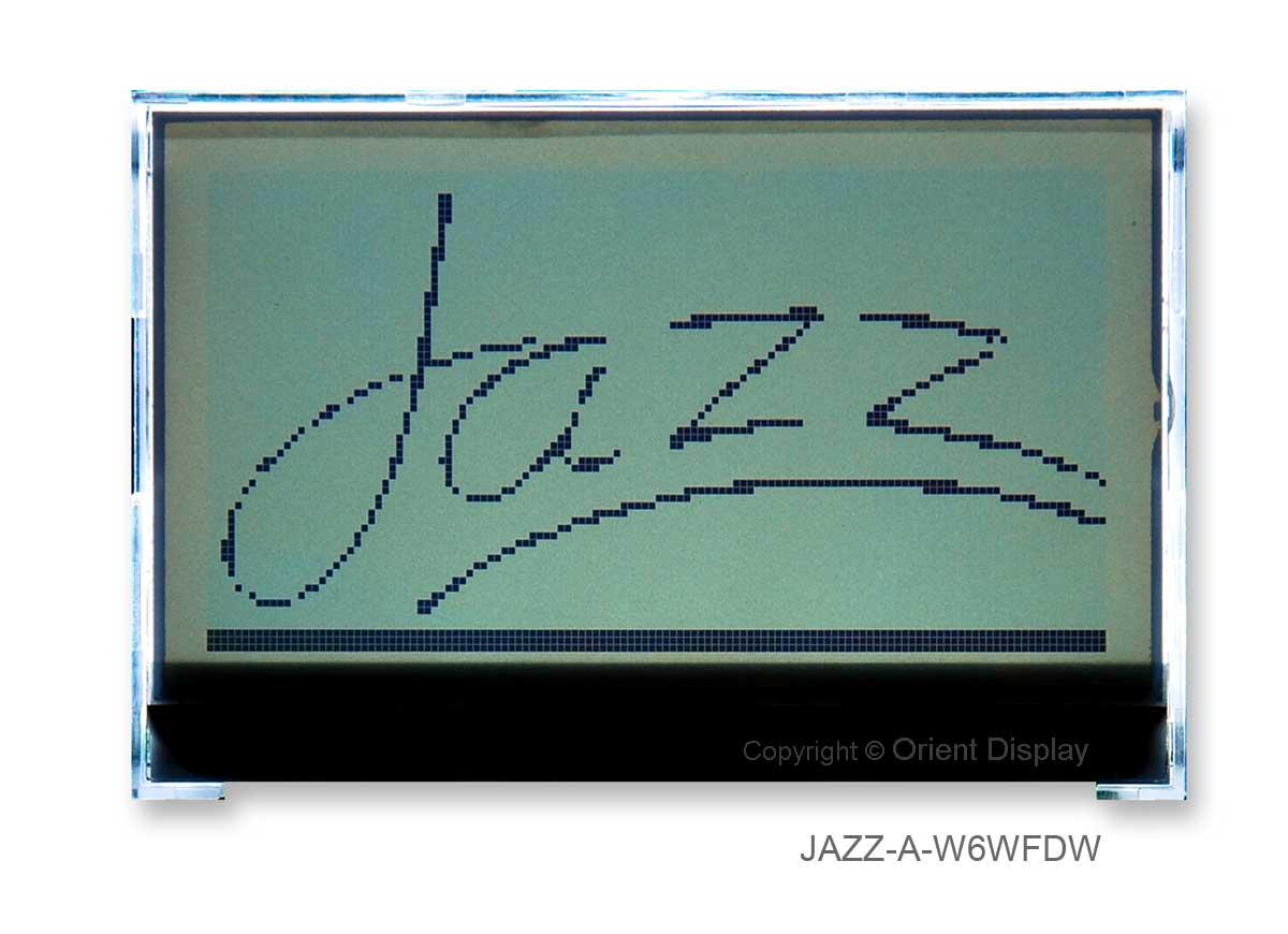 JAZZ-A-W6WFDW Module (LCD+BL, Graphic COG 128x64)