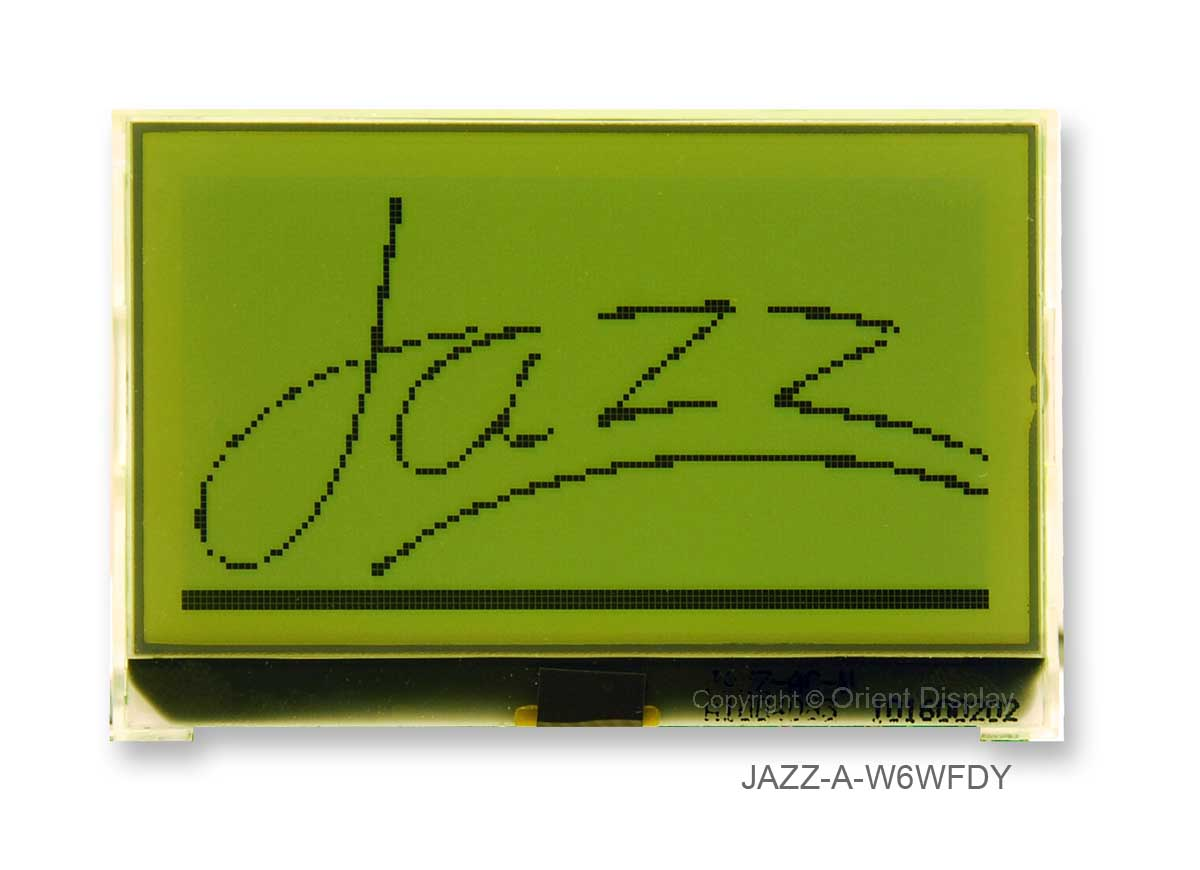 JAZZ-A-W6WFDY Module (LCD+BL, Graphic COG 128x64)