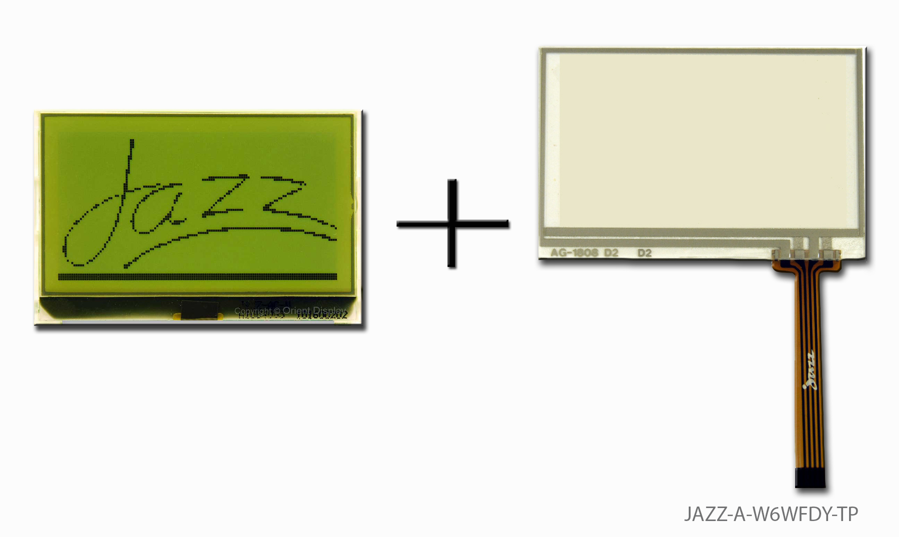 JAZZ-A-W6WFDY-TP (LCD+BL+RTP Graphic COG 128x64)