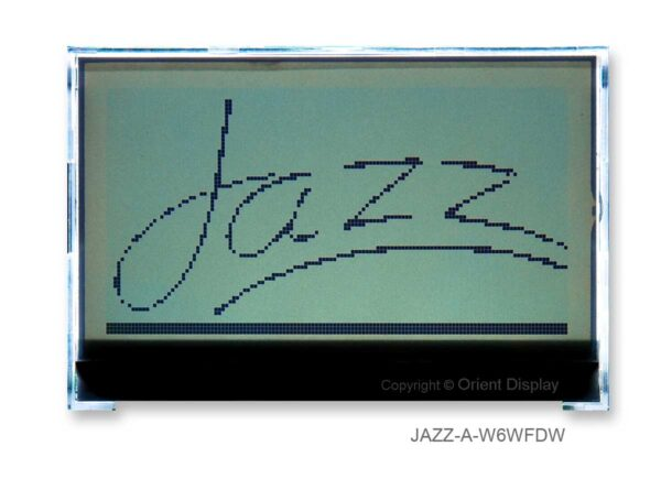 JAZZ-AC-W (Graphic 128x64 COG LCD Module)