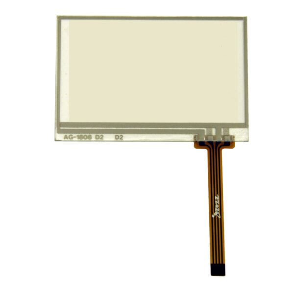 JAZZ-AT (4-Wire Resistive Touch Panel for JAZZ A Graphic LCD Modules)