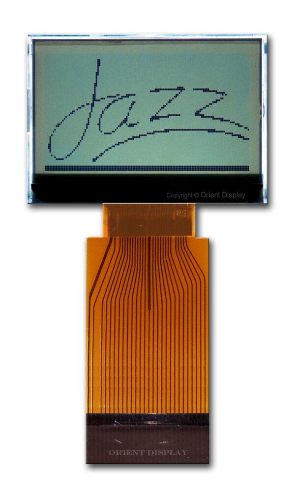 JAZZ-BC-W (Graphic 128x64 COG LCD Module)