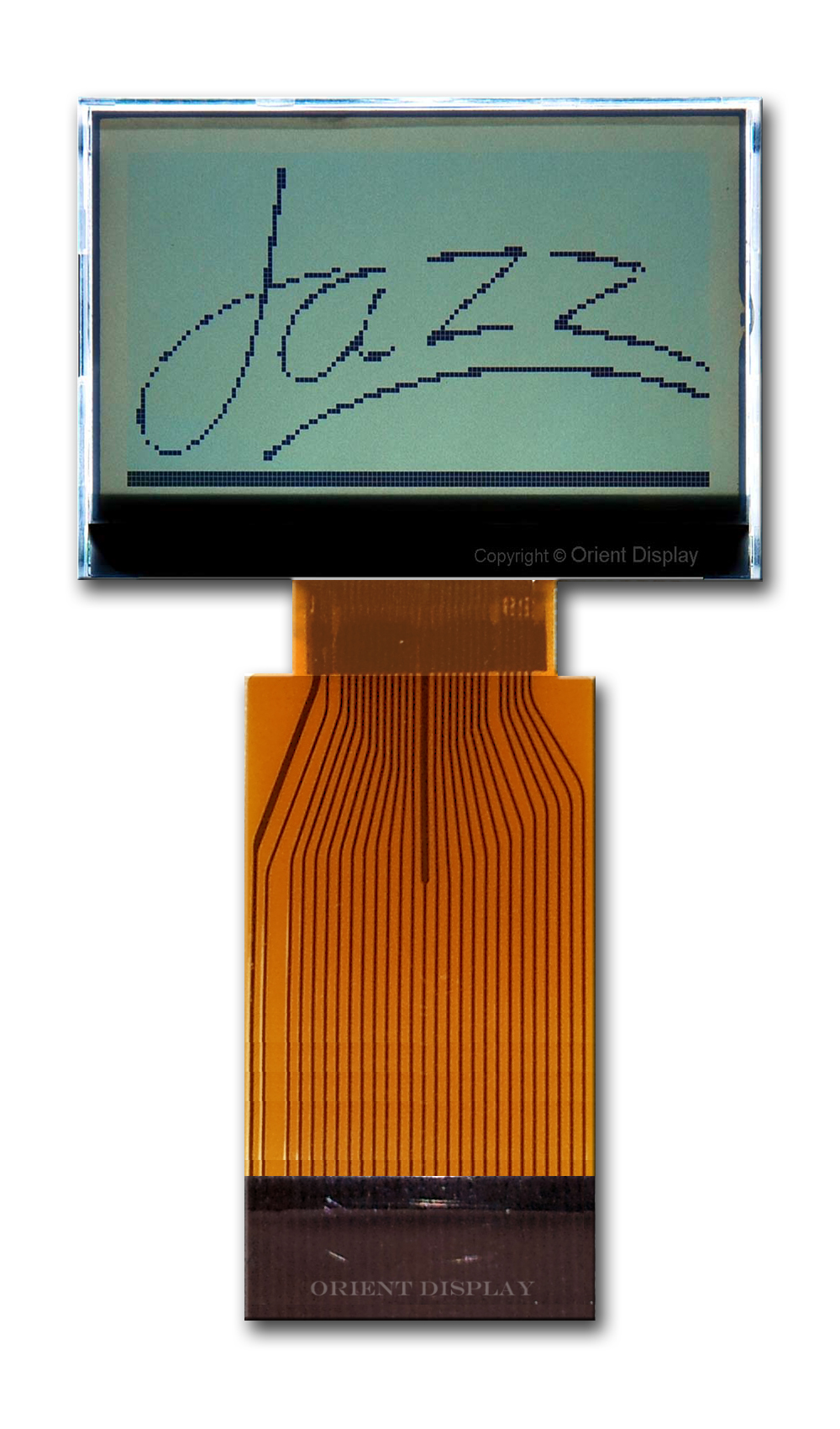 JAZZ-BC-W (Graphic 128x64 COG LCD Module)