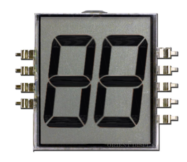 OD-202 (2-Digit LCD Glass Panel)